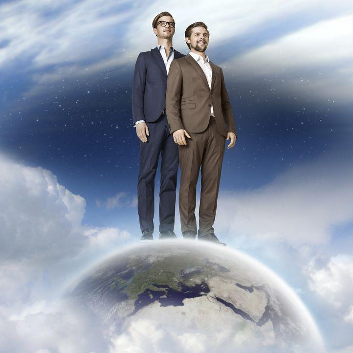 """Wer ist der Stärkste, Mutigste, Schlauste? Joko (l.) und Klaas (r.) wollen es wissen und jagen sich in """"Joko gegen Klaas - Das Duell um die Welt"""" ge... - Bildquelle: Marcus Höhn ProSieben"""