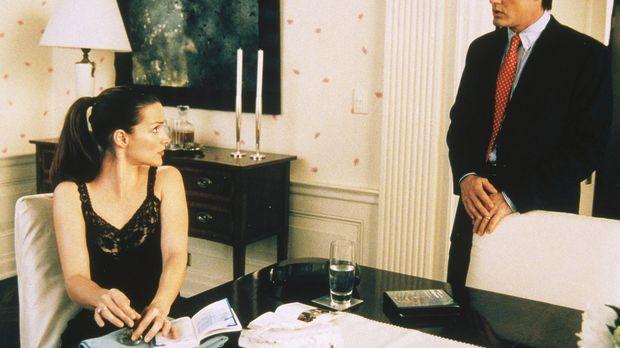Trey (Kyle MacLachlan, r.) fällt es zunehmend schwer, mit Charlottes (Kristin...
