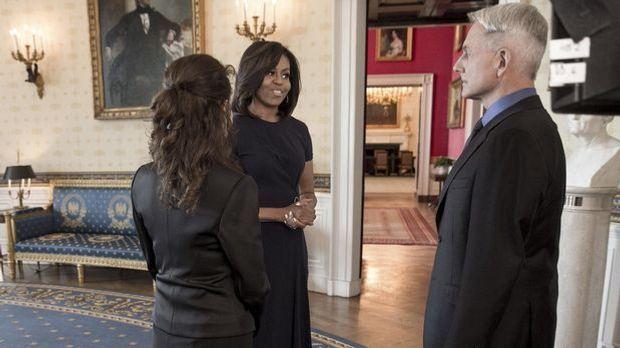 Gibbs und Michelle Obama