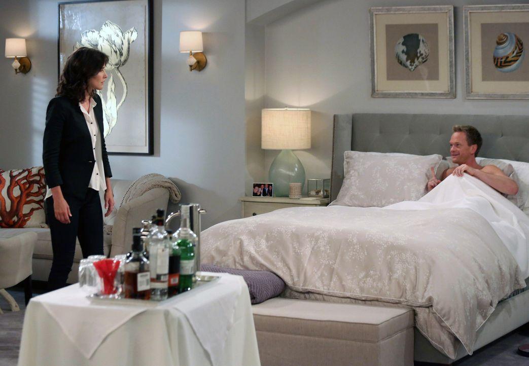 Kann ihrer Hochzeit noch etwas im Wege stehen? Robin (Cobie Smulders, l.) und Barney (Neil Patrick Harris, r.) ... - Bildquelle: 2013 Twentieth Century Fox Film Corporation. All rights reserved.