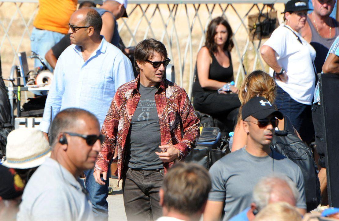 Mission-Impossible5-Dreharbeiten-14-09-25-2-AFP - Bildquelle: AFP