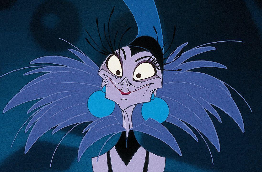 Die böse Beraterin Yzma regiert immer wieder hinter dem Rücken des Königs, was dem ganz und gar nicht gefällt ... - Bildquelle: Disney Enterprises Inc.