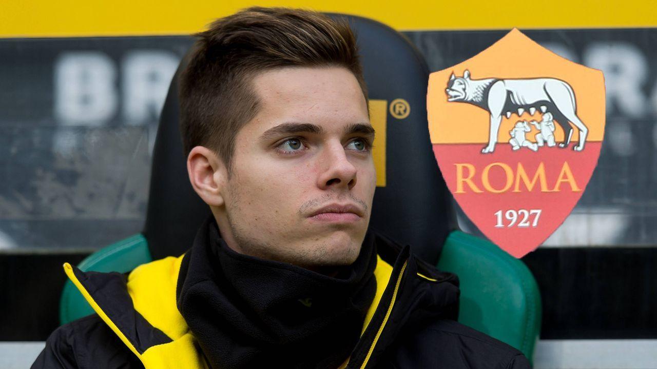 Julian Weigl zum AS Rom - Bildquelle: imago/DeFodi