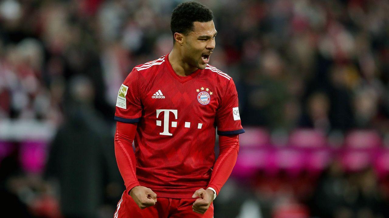 Serge Gnabry (FC Bayern München) - Bildquelle: 2019 Getty Images