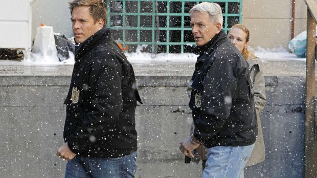 Navy CIS - Ermitteln in einem neuen Fall: Tony (Michael Weatherly, l.) und Gi...