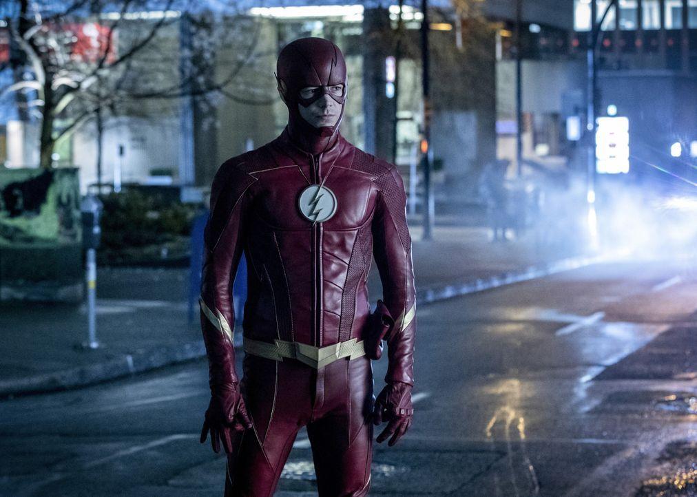 Wird Barry (Grant Gustin) das Leben seiner Freunde riskieren, um DeVoe zu stoppen? - Bildquelle: 2017 Warner Bros.