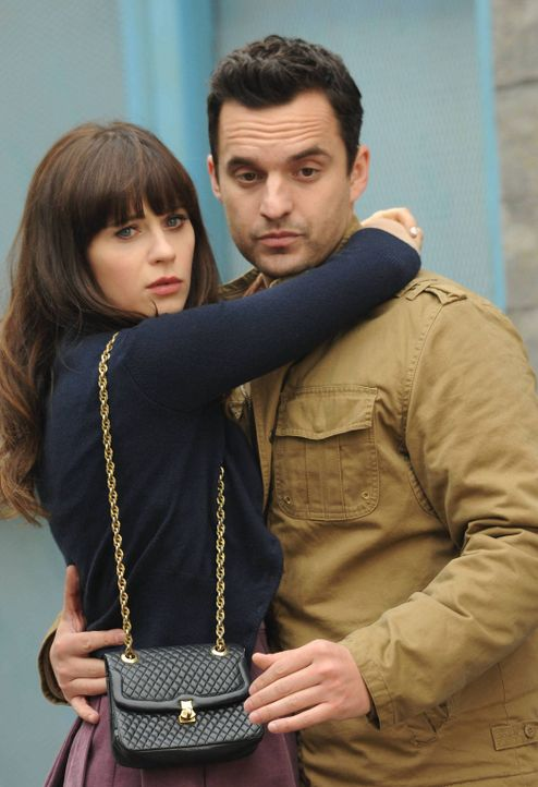Das Leben könnte so schön sein, wenn da nur nicht Jess' (Zooey Deschanel, l.) und Nicks (Jake M. Johnson, r.) Ex-Partner wären ... - Bildquelle: 2014 Twentieth Century Fox Film Corporation. All rights reserved.