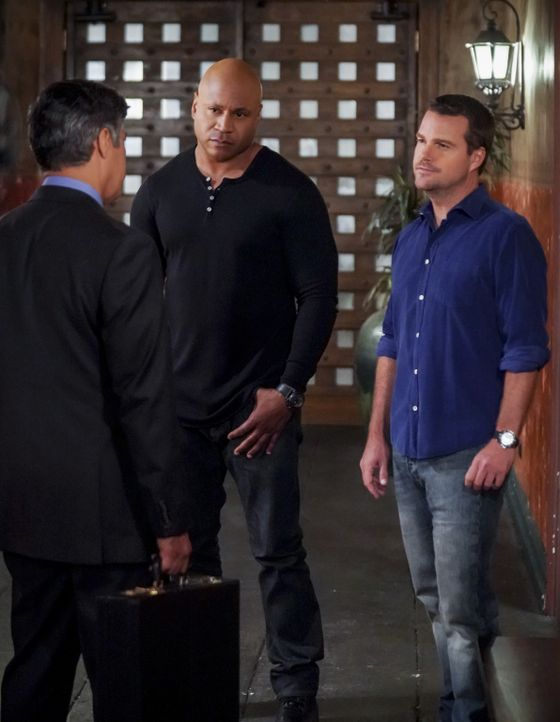 (v.l.n.r.) Sam Hanna (LL Cool J); G. Callen (Chris O'Donnell) - Bildquelle: Monty Brinton 2018 CBS Bradcasting, Inc. All Rights Reserved./  Monty Brinton