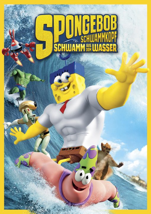Spongebob Schwammkopf - Schwamm aus dem Wasser - Artwork - Bildquelle: (2016) Paramount Pictures and Viacom International Inc. All Rights Reserved. SPONGEBOB SQUAREPANTS is the trademark of Viacom International Inc.