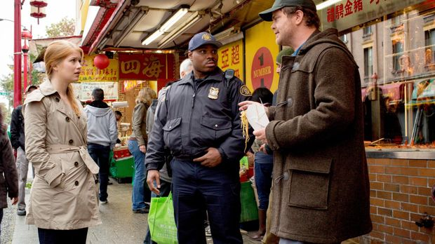Müssen den Mord an einem chinesischen Wahrsager aufklären: Backstrom (Rainn W...