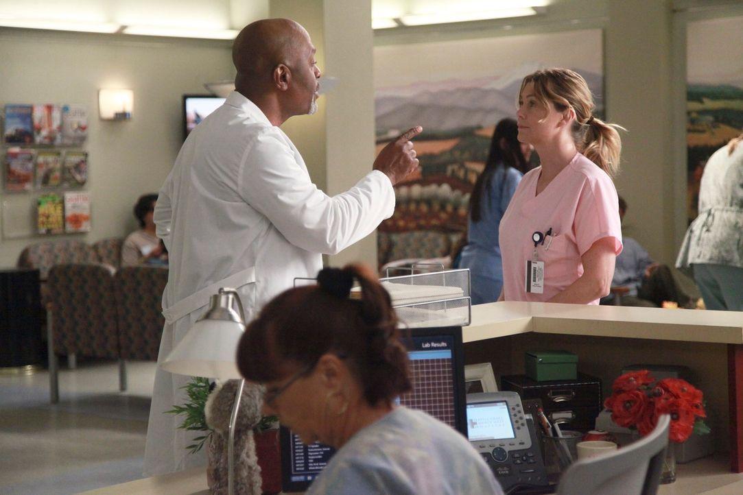 Meredith (Ellen Pompeo, r.) forscht weiter an den Inselzellen herum und findet schließlich des Rätsels Lösung. Ihre Mutter hatte schon damals einen... - Bildquelle: ABC Studios