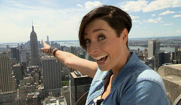 Kathy und das Empire State Building - Bildquelle: kabel eins