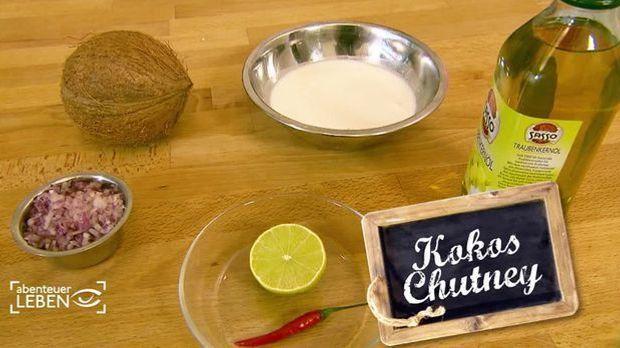 Kokos-Chutney
