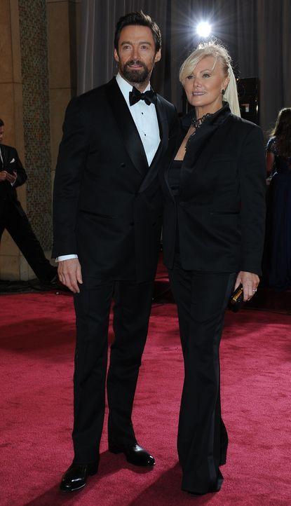 Hugh Jackman auf dem Red Carpet 2013 - Bildquelle: AFP