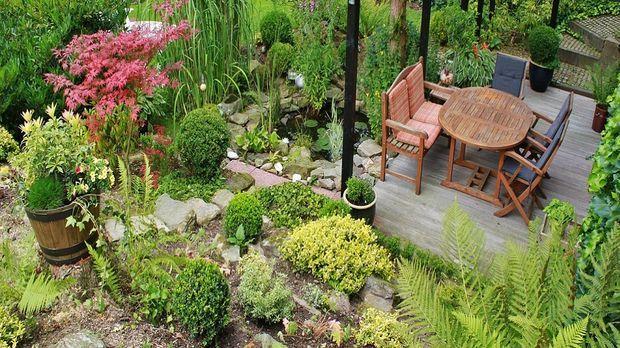 Terrasse gestalten ideen - Deko terrasse garten ...