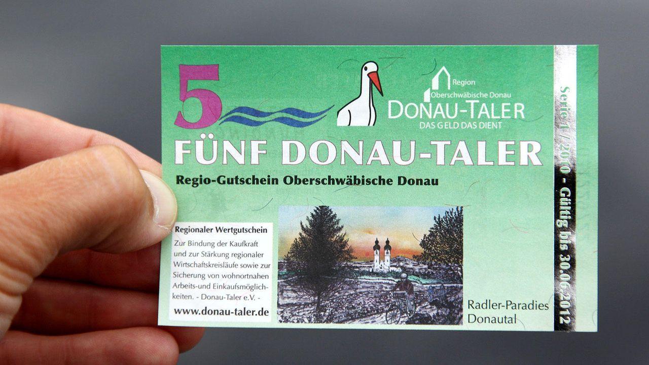 Donau-Taler Riedlingen - Bildquelle: dpa