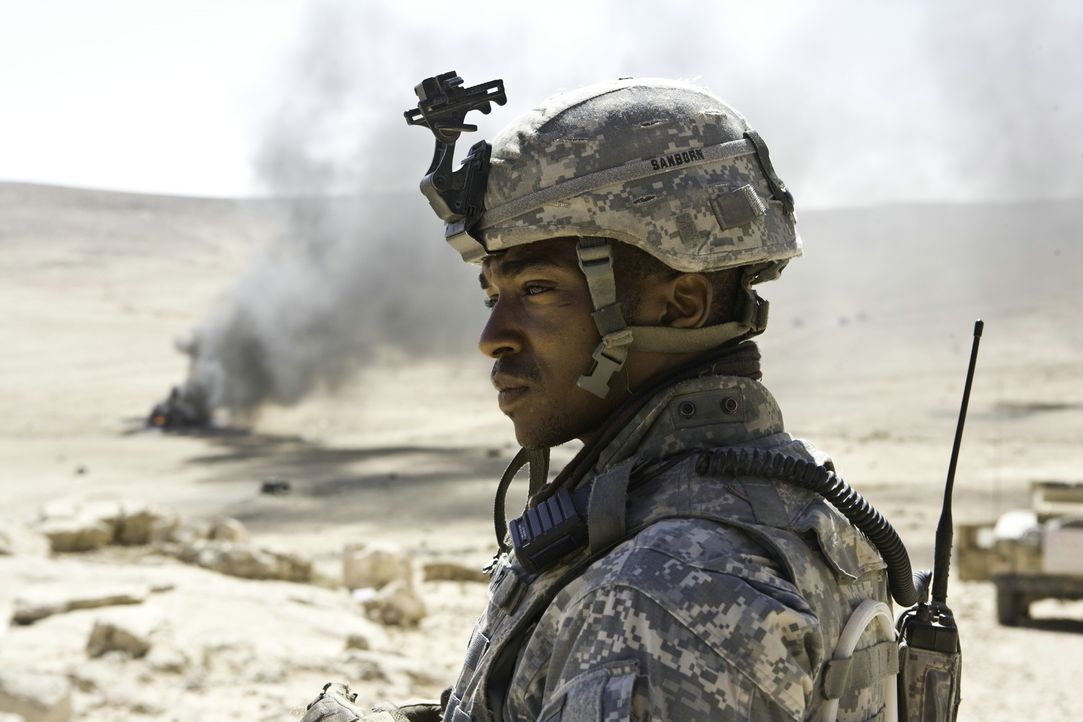 Muss sich an das eigenwillige Auftreten seines neuen Vorgesetzten erst gewöhnen: Sergeant JT Sanborn (Anthony Mackie) - Bildquelle: 2009 Concorde Filmverleih GmbH
