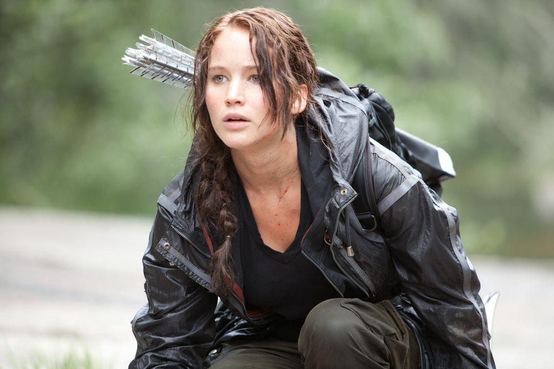 Die 16-jährige Katniss (Jennifer Lawrence) aus Distrikt 12 wird zu den mörderischen 74. Hungerspielen in die Arena geschickt. Bereits innerhalb de... - Bildquelle: Studiocanal GmbH