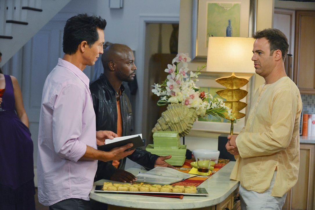 Während Sheldon einen suizidgefährdeten Patienten berät, der ihm zuvor ein schockierendes Bekenntnis offenbart hat, nehmen Jack (Benjamin Bratt,... - Bildquelle: ABC Studios