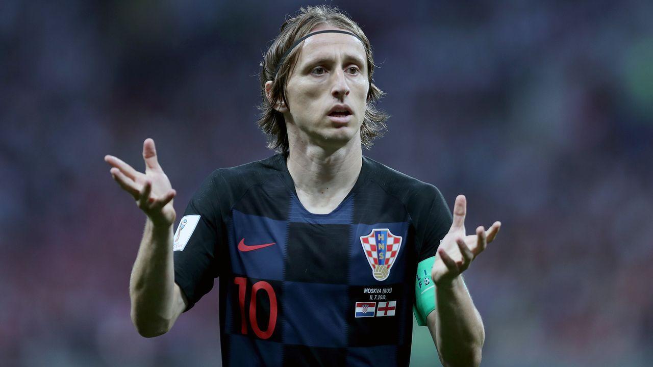 Luka Modric (Kroatien) - Bildquelle: Getty Images