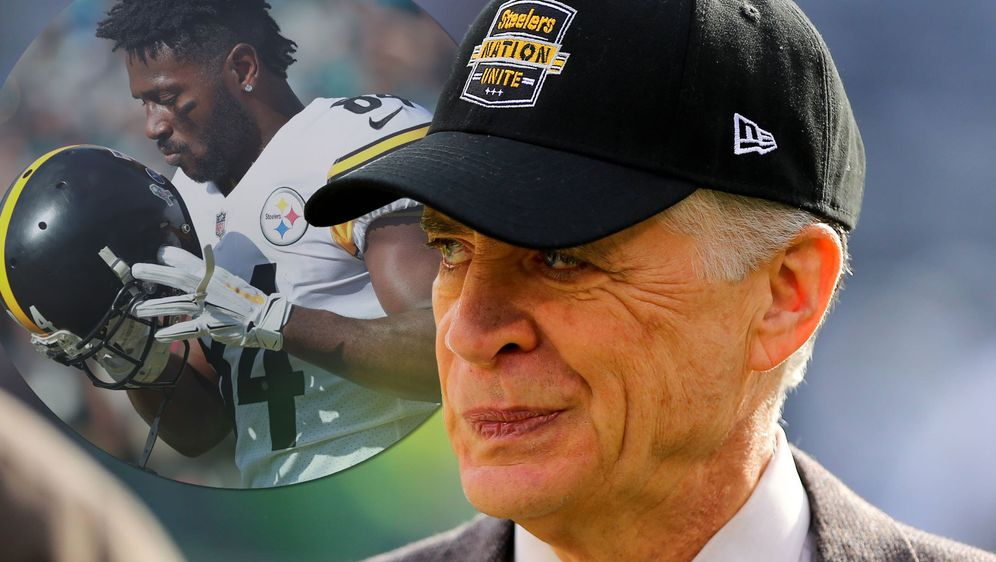 Für Steelers-Präsident Art Rooney II. ist eine Rückkehr von Antonio Brown (l... - Bildquelle: Getty/imago