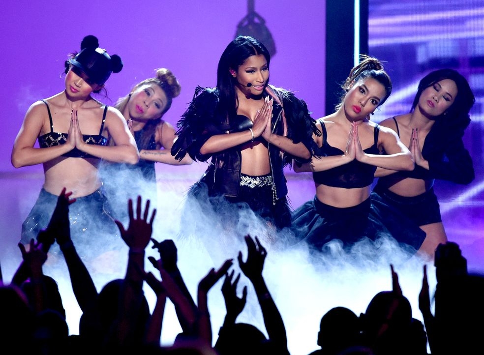 Billboard-Awards-150517-Nicki-Minaj-23-getty-AFP - Bildquelle: getty-AFP