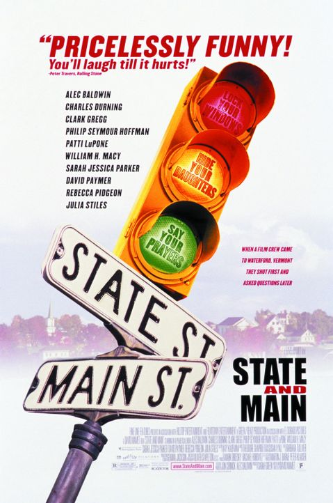 """STATE AND MAIN"" - Plakatmotiv - Bildquelle: Warner Bros."