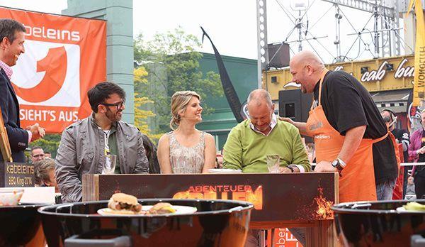 Jumbo bei der Jury - Bildquelle: kabel eins/ Ralf Jürgens