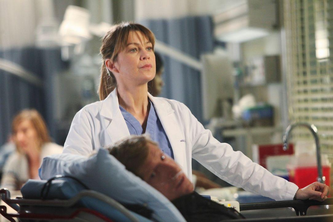 Meredith (Ellen Pompeo) möchte unbedingt beweisen, dass sie leitende Assistenzärztin sein kann. Sie meldet sich dafür, die Notaufnahme für eine Nach... - Bildquelle: ABC Studios