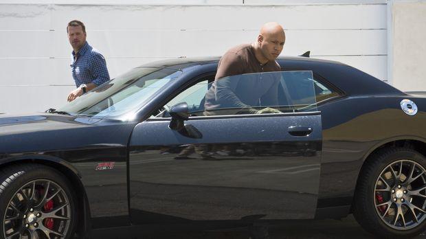 Ein neuer Fall wartet auf Callen (Chris O'Donnell, l.), Sam (LL Cool J, r.) u...