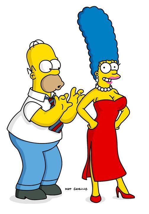 Nach Marges (r.) Brustvergrößerung kann es Homer (l.) kaum noch erwarten ... - Bildquelle: TWENTIETH CENTURY FOX FILM CORPORATION