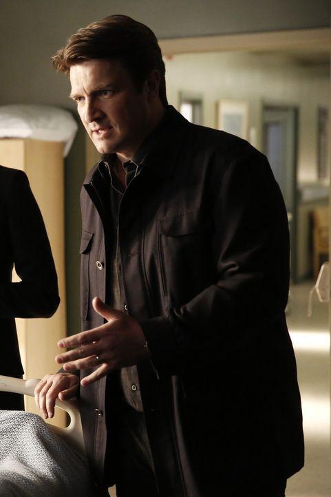 Schnell findet Rick (Nathan Fillion) heraus, dass sich Inspekteur Alan Masters durch seine akribische Arbeitsweise und seine Unbestechlichkeit eine... - Bildquelle: Tyler Golden 2016 American Broadcasting Companies, Inc. All rights reserved.