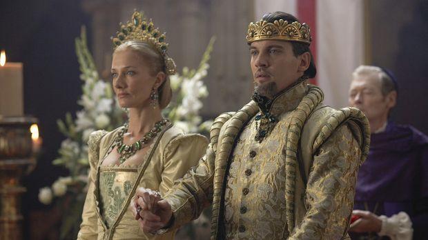 Während sich ein Krieg mit Frankreich anbahnt, heiratet Henry VIII. (Jonathan...