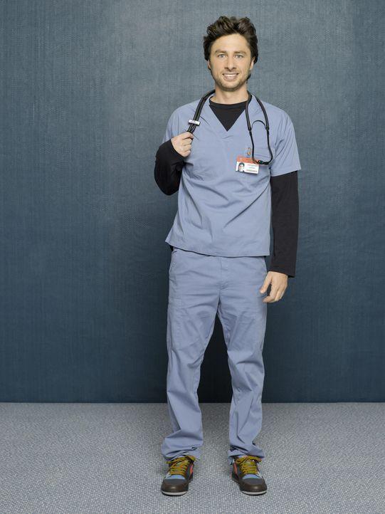 (8. Staffel) - Auf den engagierten Arzt J.D. (Zach Braff) warten täglich neue Überraschungen ... - Bildquelle: Touchstone Television