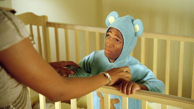 Auch Vatergefühle können zu weit gehen: Nicht nur wegen des Schlafanzuges, so...