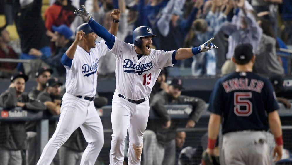 Max Muncy (M.) macht für die Dodgers alles klar - Bildquelle: GETTY AFPSIDKEVORK DJANSEZIAN
