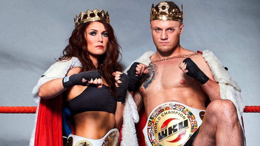 Marie Lang und Michael Smolik bekommen es mit ihren stärksten Gegnern zu tun - Bildquelle: Steko