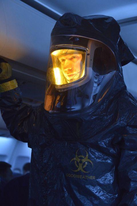 Im Inneren eines sonderbaren Flugzeugs macht Dr. Ephraim Goodweather (Corey Stoll) eine erschreckende Entdeckung ...