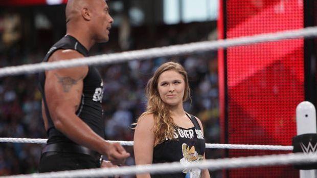 Rousey WWE