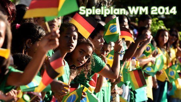 Spielplan WM 2014 und seine Highlights