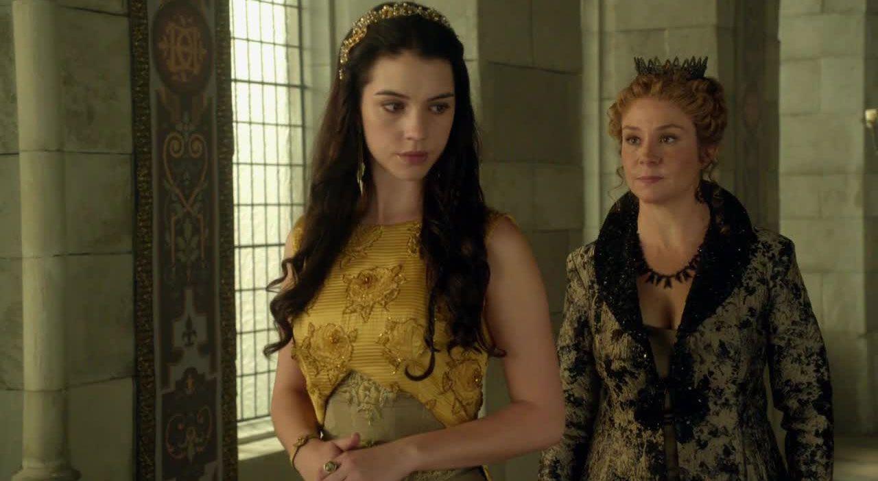 Mary und Königin Catherine - Bildquelle: 2014 The CW Network. All Rights Reserved.