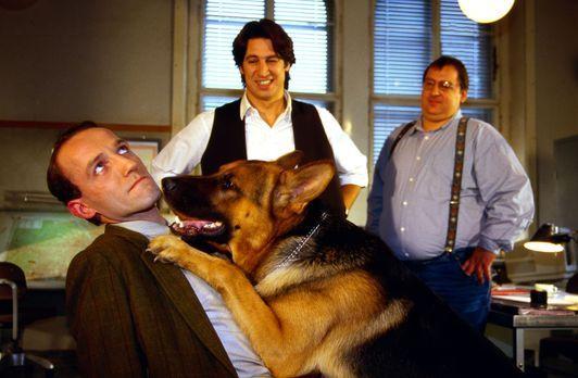 Kommissar Rex - Rex kann es nicht lassen. Er geht auf Tuchfühlung mit Ernst S...