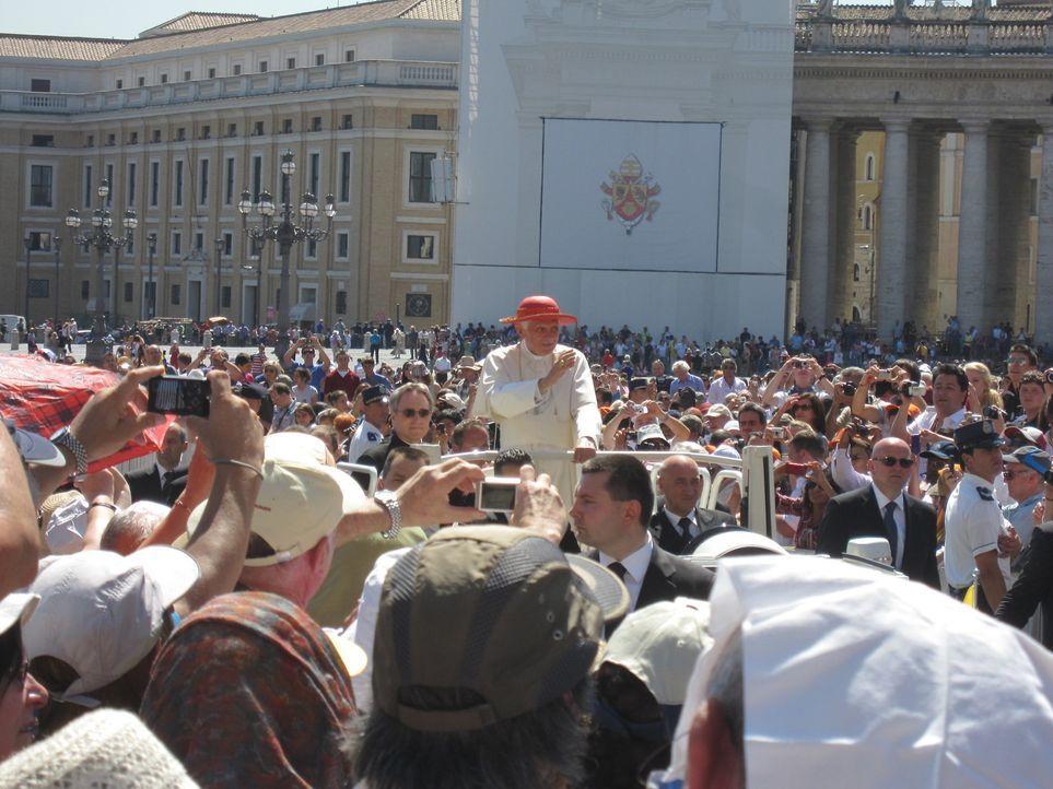 """""""Abenteuer Leben"""" zeigt einen exklusiven Blick hinter die Kulissen des Vatikans. - Bildquelle: kabel eins"""