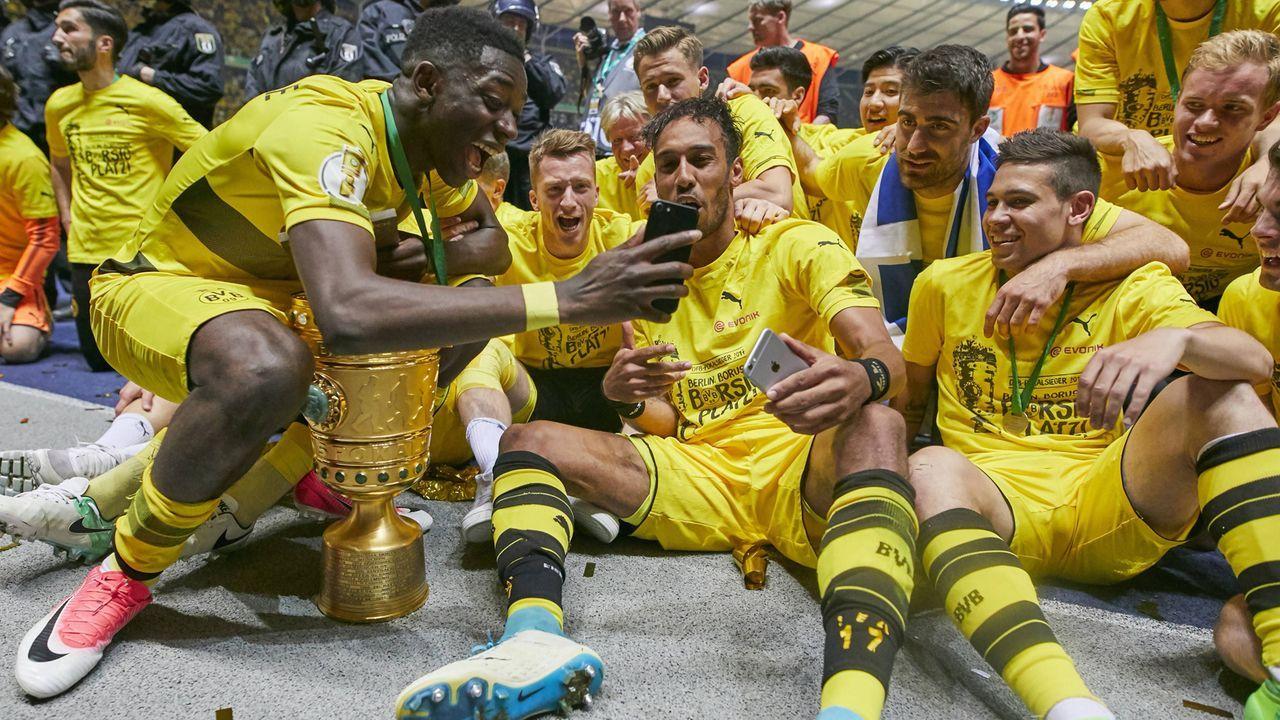 Die meisten Endspielteilnahmen in Folge: Borussia Dortmund, vier - Bildquelle: Imago