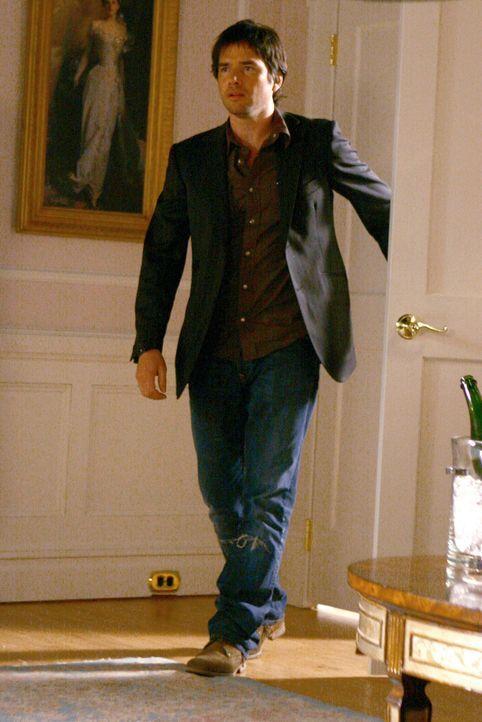Rufus (Matthew Settle) möchte Lily von der Hochzeit mit Bart abhalten, doch seine Liebeserklärung scheint zu spät zu kommen ... - Bildquelle: Warner Bros. Television