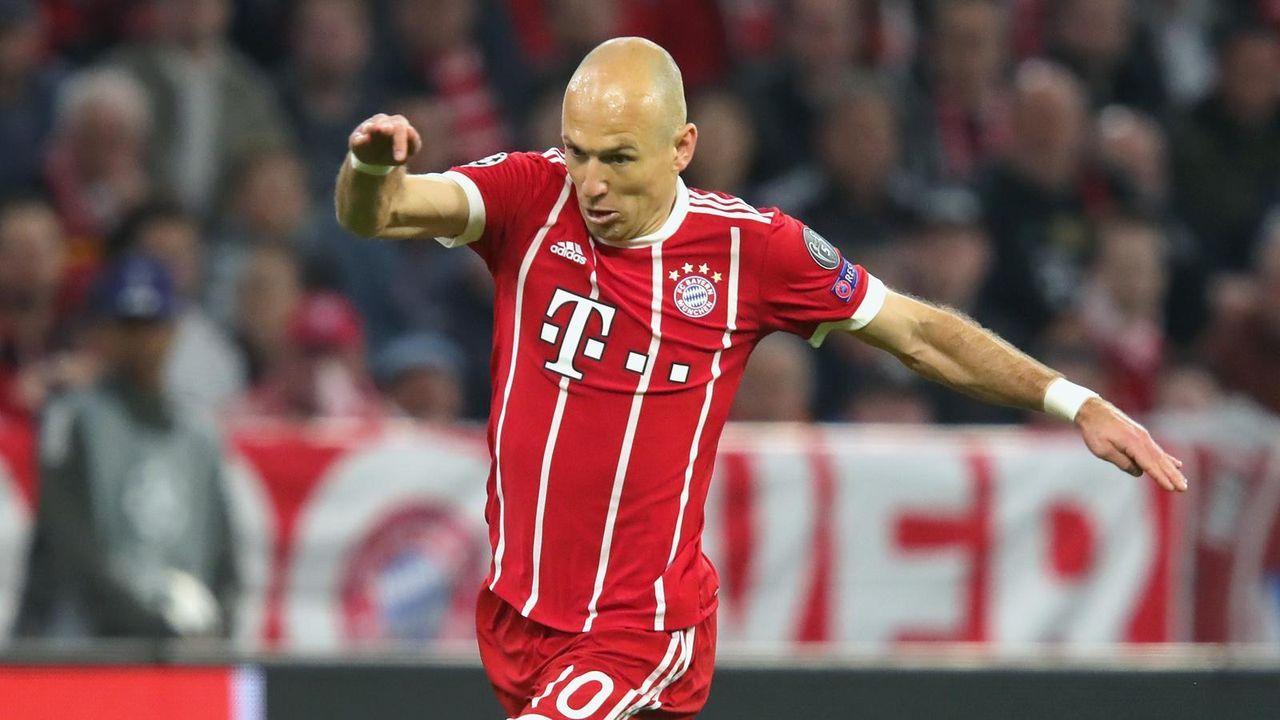 Arjen Robben  - Bildquelle: 2018 Getty Images