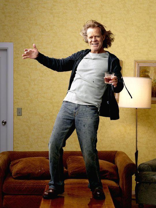 (1. Staffel) - Der frustrierte Familienvater Frank Gallagher (William H. Macy) ertränkt seine Sorgen überwiegend in Alkohol. Seine sechs Kinder erzi... - Bildquelle: 2010 Warner Brothers
