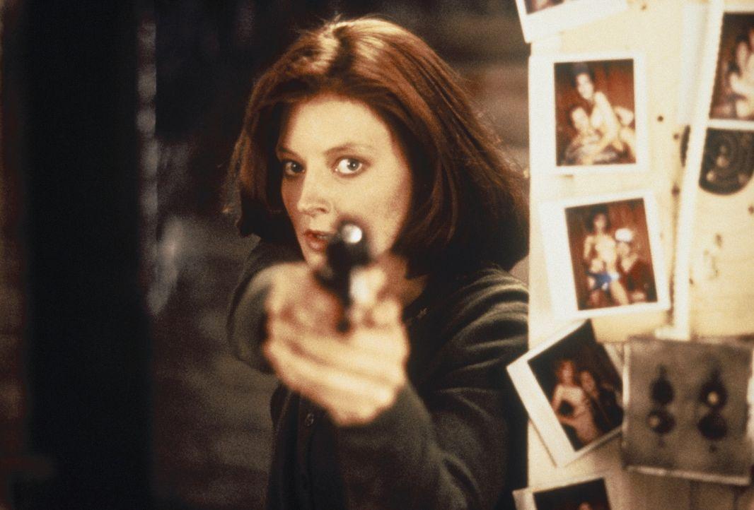 Als die junge Polizeischülerin Clarice Starling (Jodie Foster) den psychopathischen Mörder ausfindig machen kann, geht der Horror erst richtig los... - Bildquelle: Orion Pictures Corporation