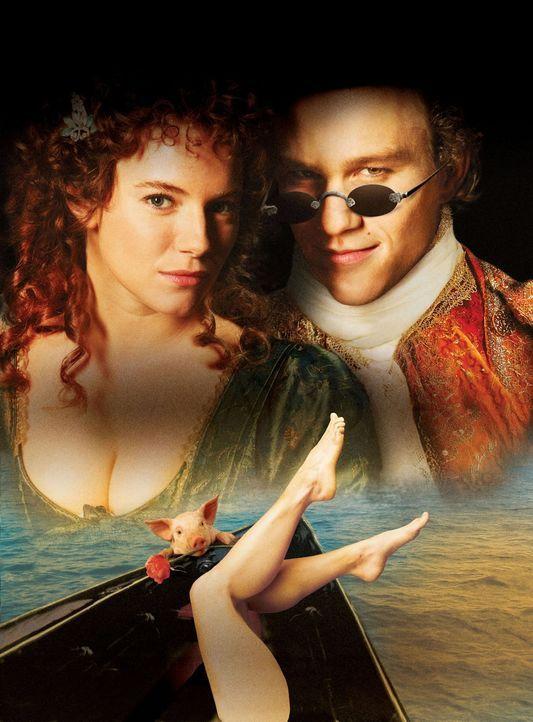Casanova - artwork -  mit Heath Ledger, r. und Sienna Miller, l. - Bildquelle: Buena Vista Pictures. All rights reserved