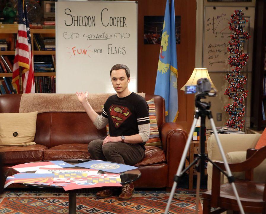 Penny schafft es tatsächlich, Sheldon (Jim Parsons) mit ihrer schauspielerischen Leistung zu beeindrucken ... - Bildquelle: Warner Bros. Television